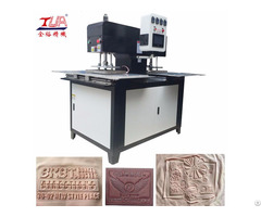 Full Automatic Clothes Labels Heating Press Embossing Machine