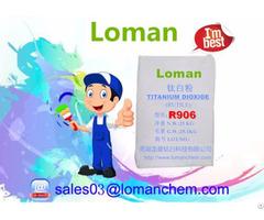 High Quality Titanium Dioxide R906