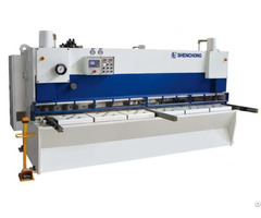 Qc11yk 8 X 2500 High Speed Hydraulic Guillotine Shear