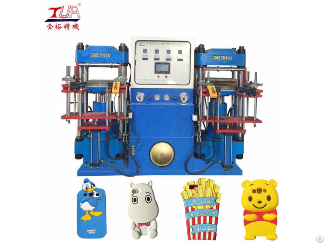 China Double Heads Silicone Products Hydraulic Machine
