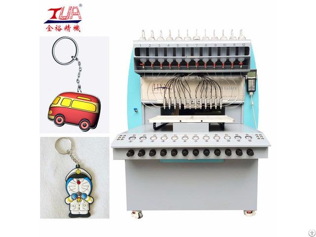 Soft Pvc Key Chains Dispensing Equipment