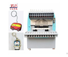 Soft Pvc Key Chains Dispensing Equipment
