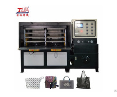 Fashion Women Kpu Bag Upper Molding Machine