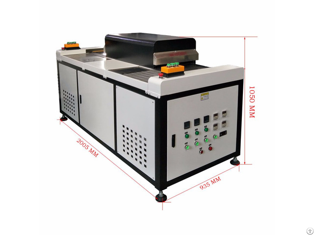 Two Conveyer Shoes Sole Baking Oven Machine
