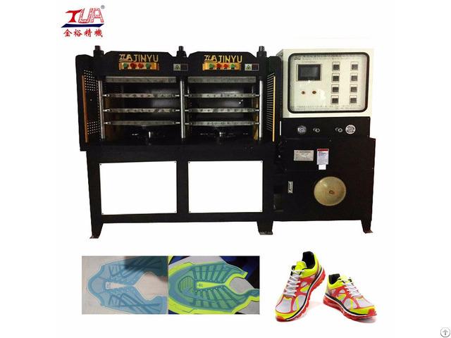 Kpu Sport Shoes Vamp Molding Making Machine Equipment