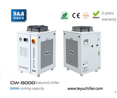 S And A Water Chiller Cw 6000 With 3kw Cooling Capacity Environmental Refrigerant