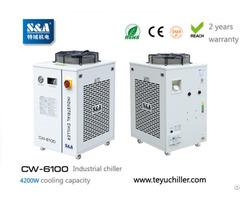 S And A Industrial Compressor Refrigeration Chiller Cw 6100 Factory