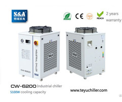 S And A Water Chiller System Cw 6200 With 5 1kw Cooling Capacity