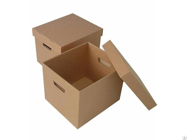 Cardboard Boxes White