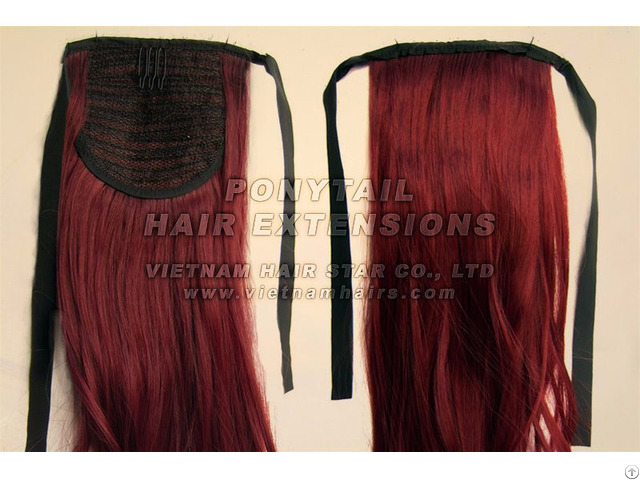 Vietname Ponytail Hair Extensions High Quality Good Price