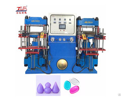 Silicone Powder Puff Hydraulic Machine
