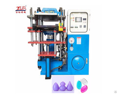 Sing Head Silicone Powder Puff Forming Machine