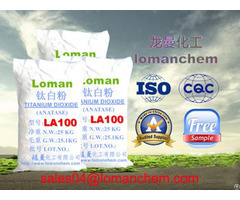 High Purity Titanium Dioxide Anatase For Cosmetics La100