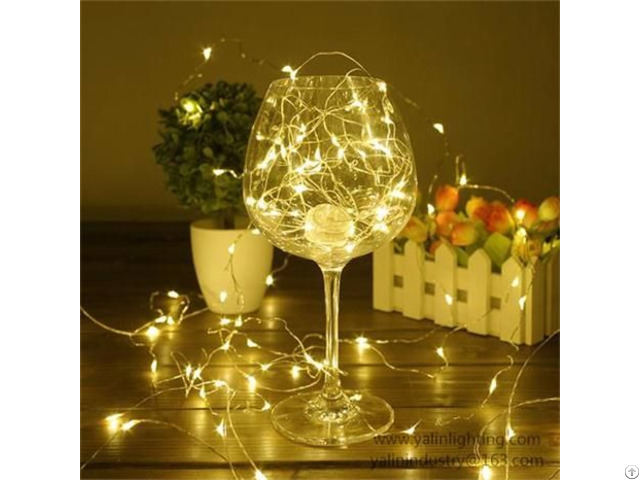 Flexible Led Copper Wire Light For Chritmas Holiday Decorative Rope Lighting