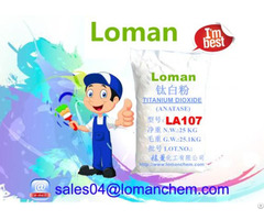 Fiber Exclusive Use Anatase Titanium Dioxide La107