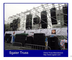 Concert Scaffolding Layer Truss System