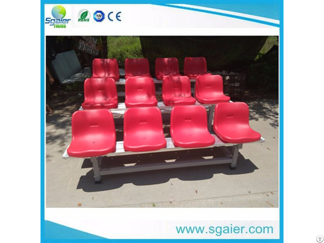 Sgaier Cheap Price Portable Bleachers Indoor Gym
