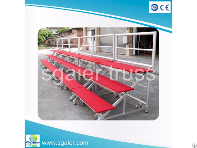 School Church Used Portable Aluminium Platform Choral Riser For Sale