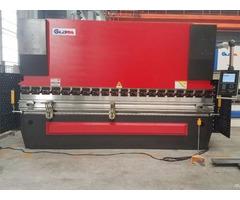 Full Load Test For 2 300t 3200mm Tandem Press Brake Machine