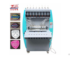 Soft Pvc Patches Dripping Making Machine For Clothes