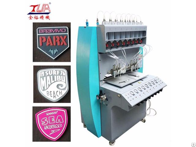 Hot Selling Pvc Rubber Plastic Patch Dispensing Machine