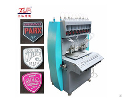 Hot Selling Pvc Rubber Plastic Patch Dispensing Machine