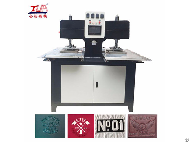 China Shoes Plastic Logo Embossing Making Machine Equipment