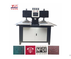 China Shoes Plastic Logo Embossing Making Machine Equipment