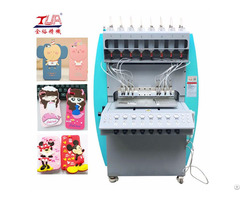 Automatic Rubber Silicone Plastic Cell Phone Cases Dispensing Machine