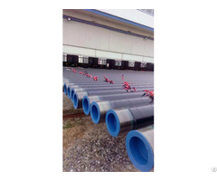 Api 5l Spiral Steel Pipe With 3lpe Internal Coating