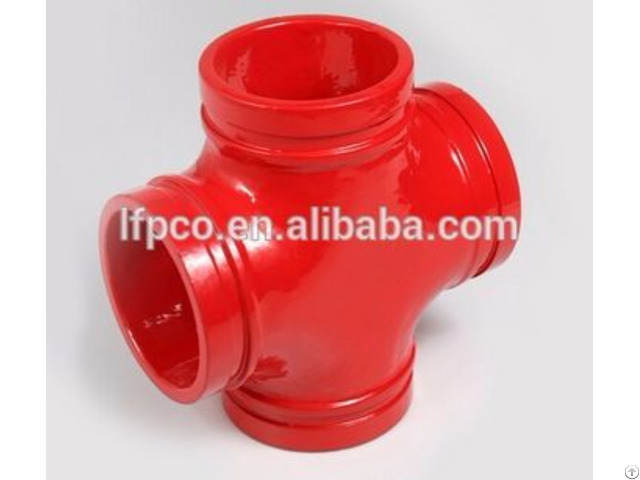 Ductile Iron Pipe Fittings Grooved Tee
