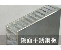 Aluminum Honeycomb Core Sandwich Stainless Steel