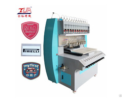 Soft Pvc Labels Trademarks Logo Dropping Equipment For Bag