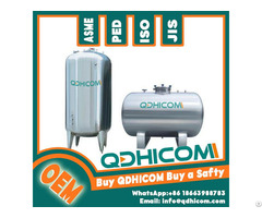 Best Quality Stainless Steel Air Storage Tank With Asme Approved