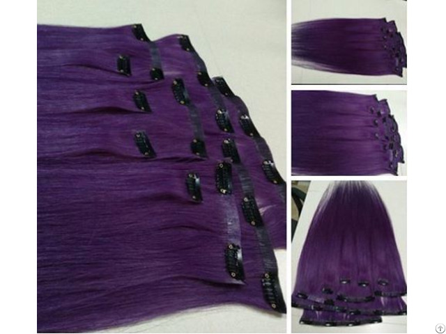 Whosales Pu Clip In 100% Viet Nam Human Hair Extension Good Price