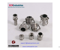 Stainless Steel Quick Groove Couplings