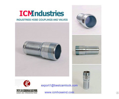 Galvanized Carbon Steel King Combination Nipple