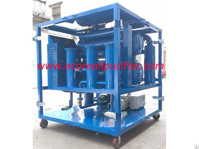 18000l H High Vacuum Transformer Oil Filtration Machine