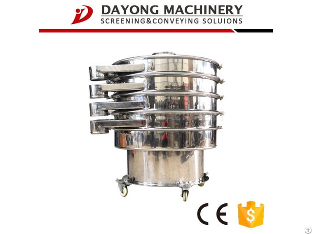 Rotary Vibro Sifter Separating Sieve For Building Materials