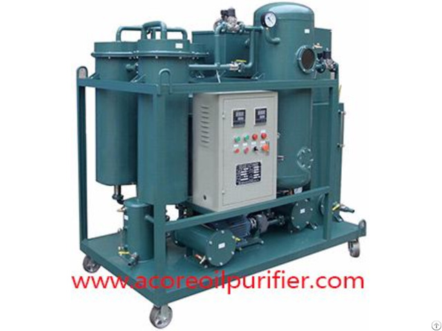 Industrial Vacuum Dehydration Oil Purification Plant