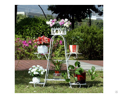 Different Shapes And Types Iron Garden Rack