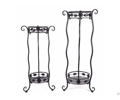 Wave Iron Garden Rack