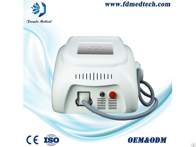 Portable Beauty Equipment 808nm Diode Laser For Permanent Hair Removal