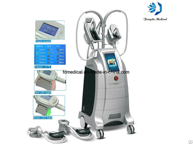 Weight Management Cryolipolysis Body Slimming Machine For Clinic Use