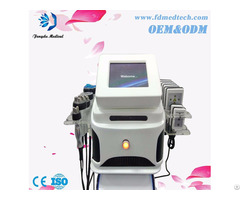 Portable 4in1 Multifunction Vacuum Lipolaser Cavitation Rf Body Slimming Machine