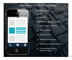 Djax Mobile Ad Server