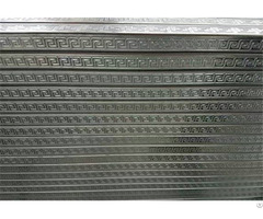 Embossed Square Steel Pipes