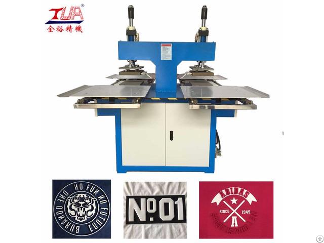 Fabric Embossing Plate Machine