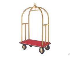 Hotel Luggage Trolley Bellman Cart