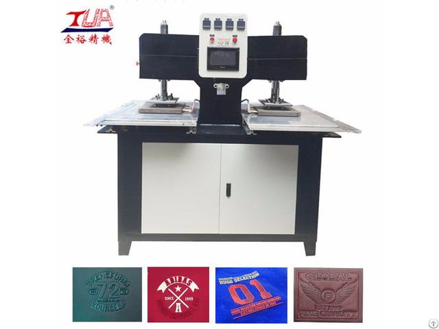 Textile Logo Debossing Machine